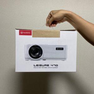 【VANKYO Leisure 470 レビュー】1万円の格安プロジェクターでも大満足した話