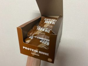 チョコレートブラウニー箱買い
