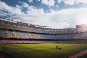 名門バルセロナのスタジアム