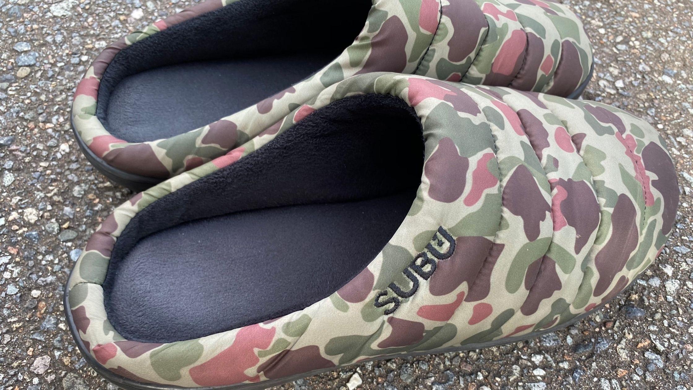 SUBUの冬用サンダル