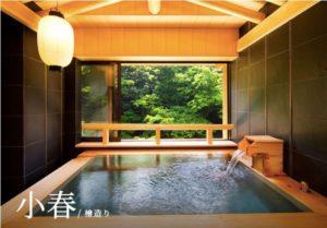 貸切露天風呂の画像