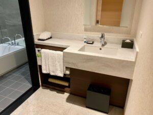 ハイアットハウス金沢 洗面所