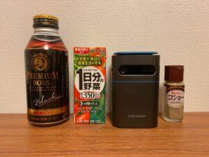 CINEMAGE miniは缶コーヒーと同じサイズ